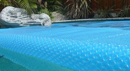 SOLAR POOL COVERS
