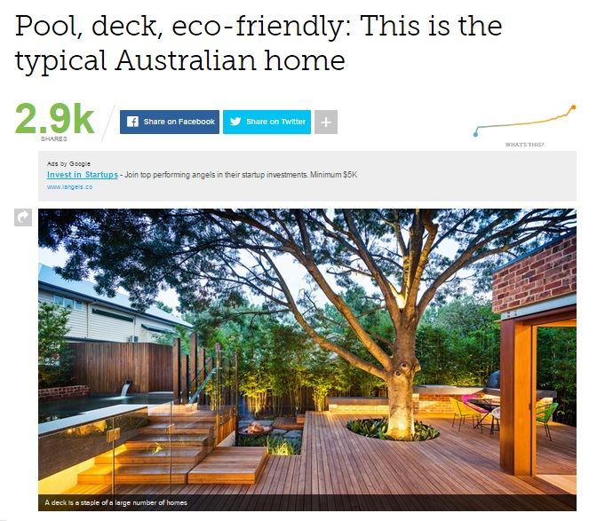 Pool, deck, eco-friendly