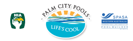Palm City Pools Logo