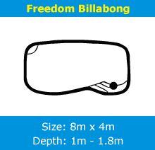 Palm City Pools - Freedom Billabong Swimming Pool