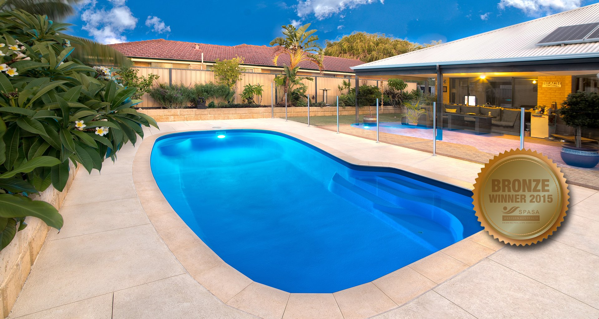 Palm City Pools Bronze Award 2015
