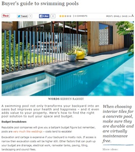 Inground Pools in Perth: Knowing and Weighing Your Options Carefully