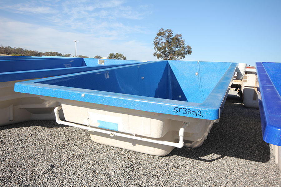 "Refurbished Fibreglass Swimming Pool ""Harmony"" for Sale in Perth (Colour: Assana Blue)"