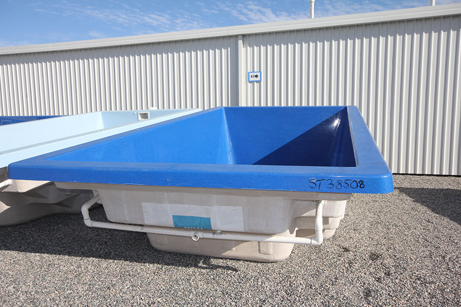 "Refurbished Fibreglass Swimming Pool ""Allure"" for Sale in Perth (Colour: Cyber Blue)"