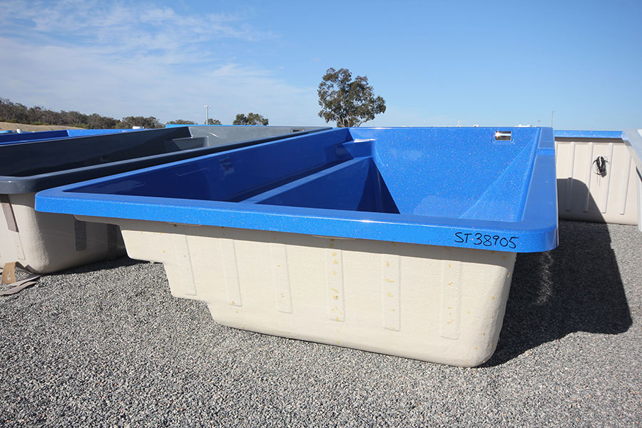 "Refurbished Fibreglass Swimming Pool ""Palazzo"" for Sale in Perth (Colour: Twilight)"