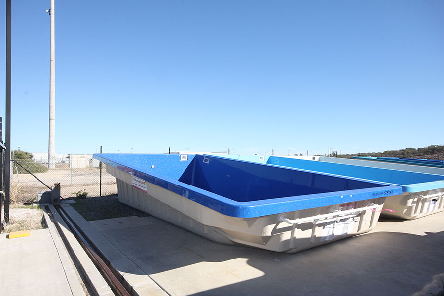 "Refurbished Fibreglass Swimming Pool ""Valentina"" for Sale in Perth (Colour: ""Twilight"")"
